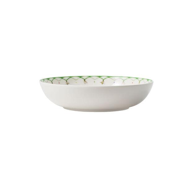 Colourful Spring piatto da insalata, 720 ml, bianco/verde, , large