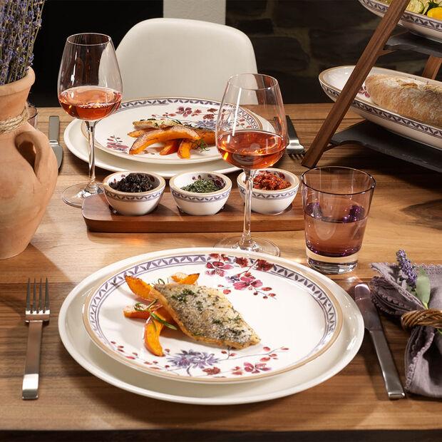 Artesano Provençal Lavanda piatto piano con decorazione floreale, , large