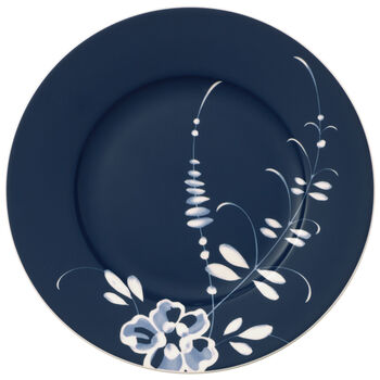 Vieux Luxembourg Brindille plato de desayuno azul