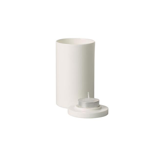 MetroChic blanc Gifts Portacandelina 7,5x7,5x13cm, , large