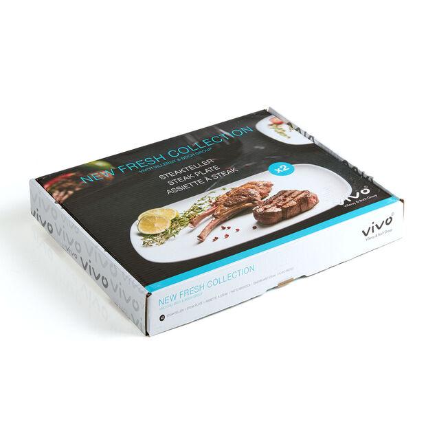 vivo | Villeroy & Boch Group New Fresh Collection Set di 2 piatto bistecca 30x25cm, , large