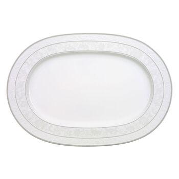 Gray Pearl piatto ovale 41 cm