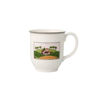 Charm & Breakfast Design Naif tazza grande da caffè con manico