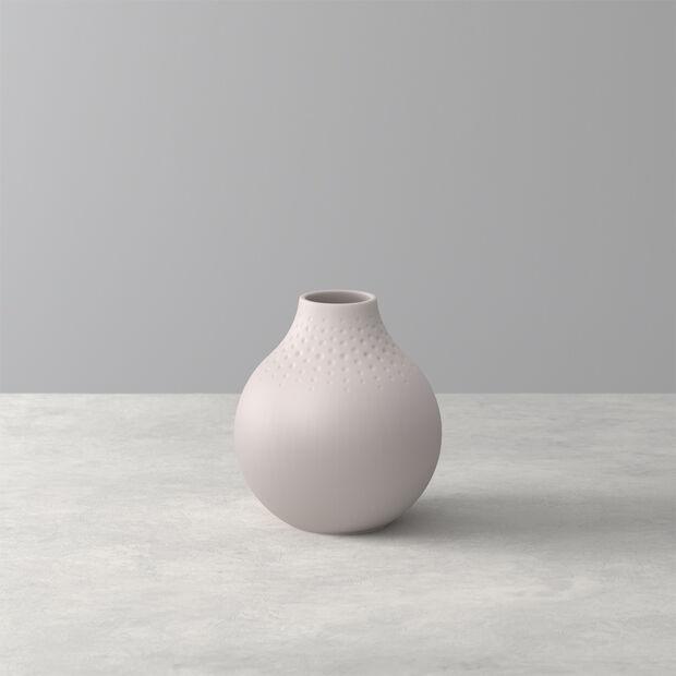 Manufacture Collier vaso, 11x12cm, perla, beige, , large