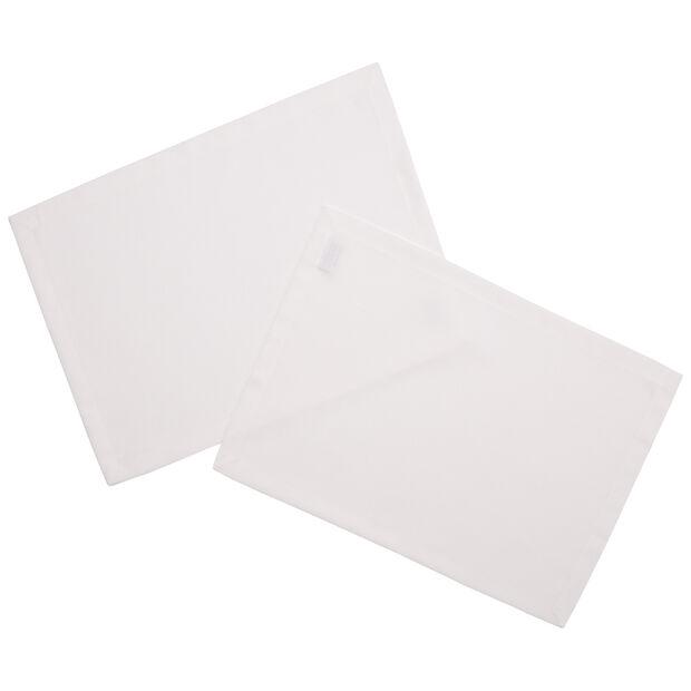 Textil Uni TREND Tovaglietta ecru 2 pz. 35x50cm, , large