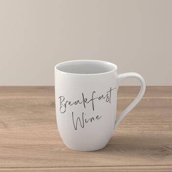 "Statement taza ""Breakfast Wine"""