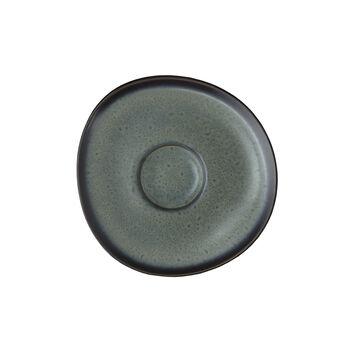 Lave gris piattino per tazza da caffè, 15,5cm