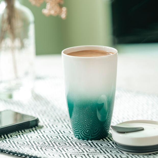 To Go tazza mug da viaggio M green, , large