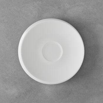 NewMoon piattino per tazza da caffè, bianco