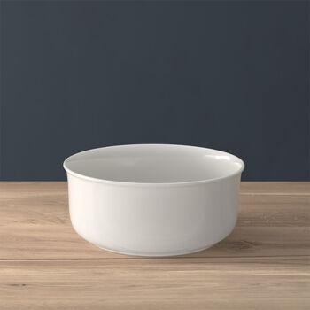 Twist White ciotola rotonda