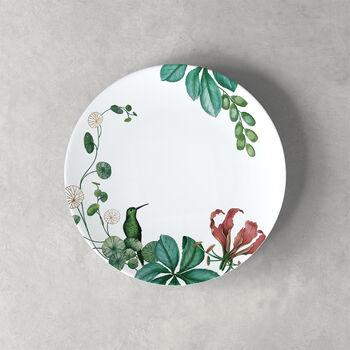 Plato para postre/desayuno Avarua, 22cm, blanco/multicolor