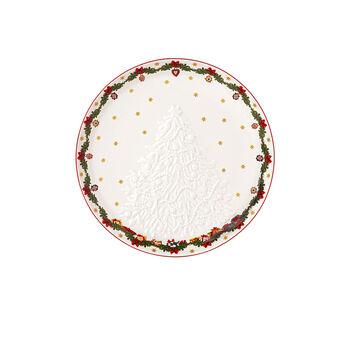 Toy's Fantasy Ciotola con rilievo pupazzo di neve 26x24,5x4,4cm