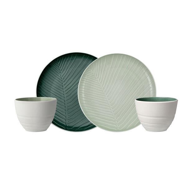 like.by Villeroy & Boch it's my match mineral set da colazione, 4 pezzi, per 2 persona, , large