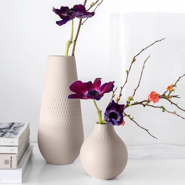 Manufacture Collier vaso, 11,5x26cm, carré, beige, , large