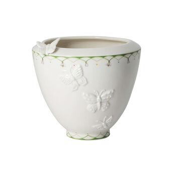 Colourful Spring vaso largo, bianco/verde