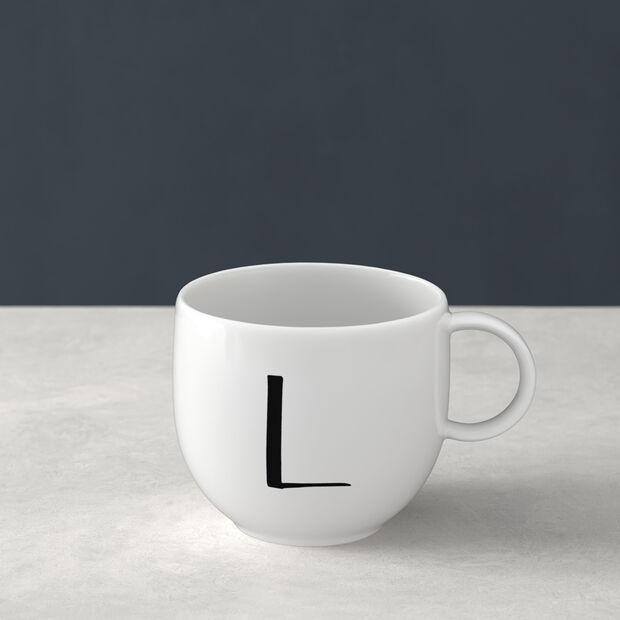Jarra Letters L 13x10x8cm, , large