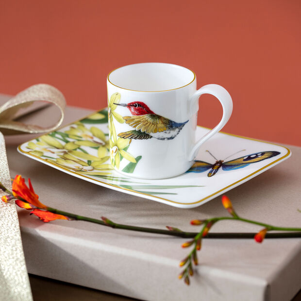 Amazonia piattino per tazza da caffè 17x14 cm, , large