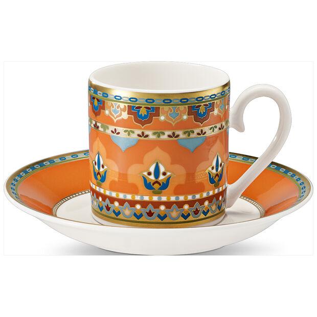 Samarkand Mandarin Tazza espresso con piattino 2pz., , large