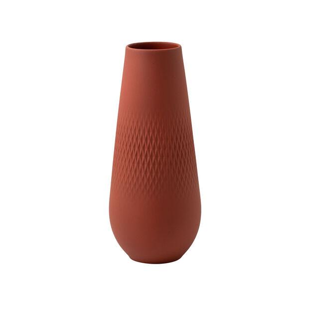 Manufacture Collier terre jarrón alto, Carré, 11,5 x 11,5 x 26 cm, , large