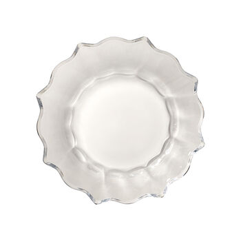 Christmas Glass Accessories ciotola, trasparente, 25 cm, 850 ml