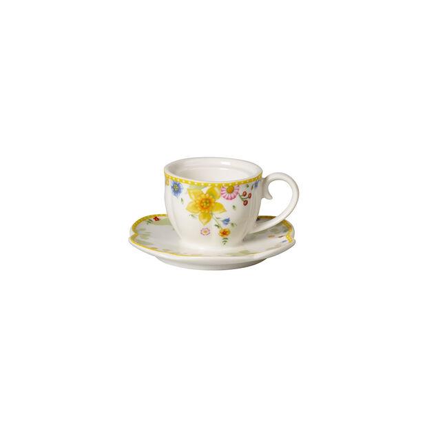 Spring Awakening portacandeline, tazza, giallo/multicolore, , large