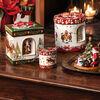 Christmas Toys Pacchetto regalo grande rotondo, bambini 17x17x20cm, , large