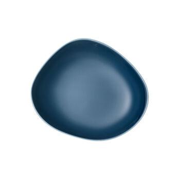 Organic Turquoise plato hondo, turquesa, 20 cm