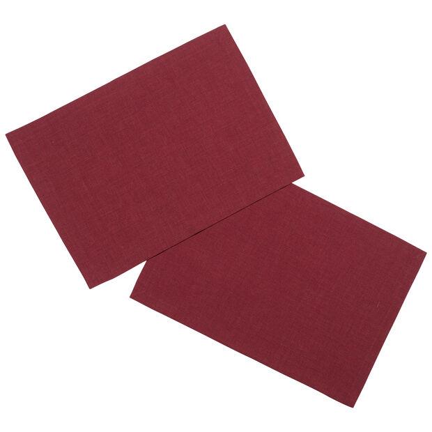 Textil Uni TREND Tovaglietta bord. 2 pz. 35x50cm, , large