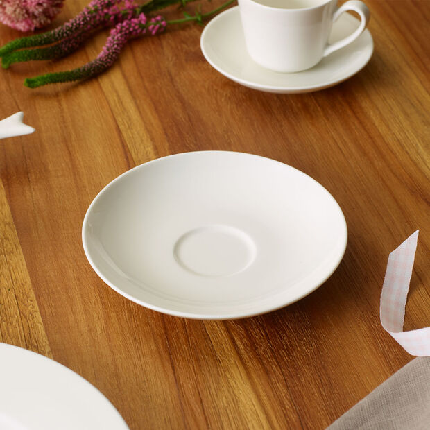 Twist White Piattino tazza caffè/tè, , large