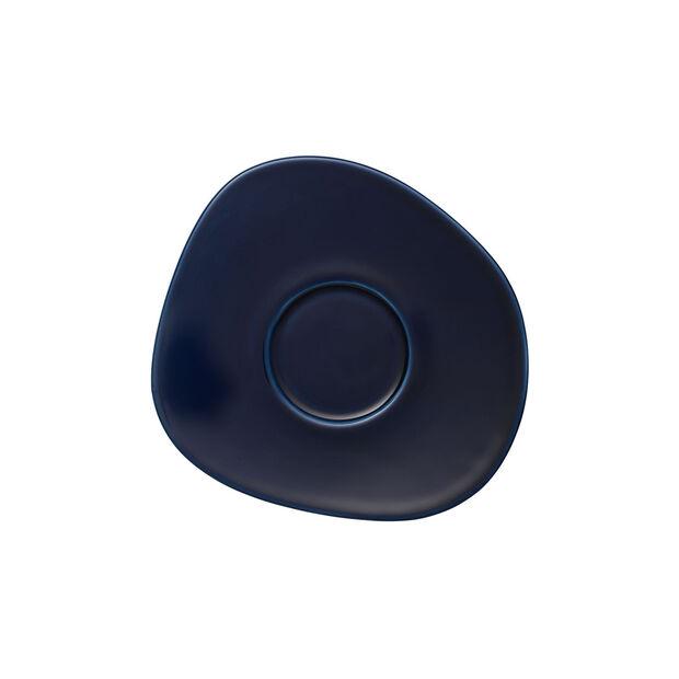 Organic Dark Blue platillo para taza de café, azul oscuro, 17,5 cm, , large