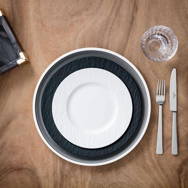 Manufacture Rock Blanc piatto da colazione, , large