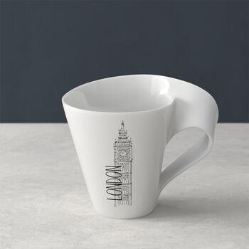 Modern Cities taza grande de café, London, 300ml