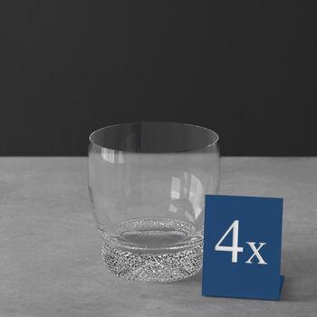 Octavie vaso de whisky, 4 unidades