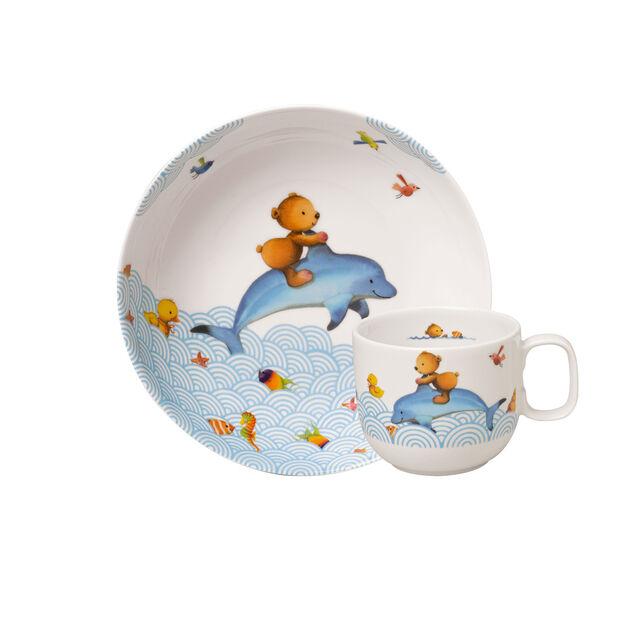 Happy as a Bear Set di stoviglie per bambini, 2pz., , large