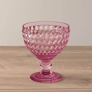 Boston Coloured coppa da spumante e da dessert, rosa, 12,5 cm