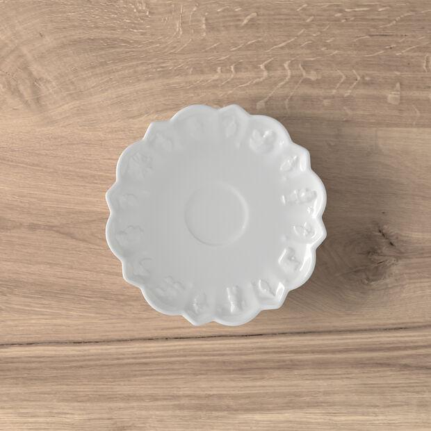 Toy's Delight Royal Classic platillo para taza de moca y expreso, blanco, 14 cm, , large