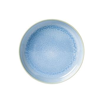 Crafted Blueberry plato hondo, turquesa, 21,5 cm
