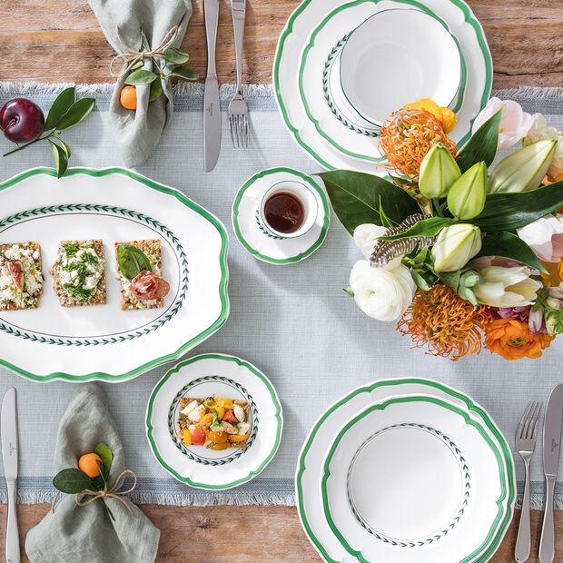 French Garden Green Line piattino per tazza moka/espresso, , large