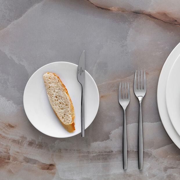 MetroChic blanc piatto da pane, bianco, , large