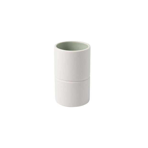 it's my home vaso piccolo, 6x10 cm, verde/bianco, , large