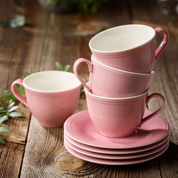 Color Loop Rose platillo para taza de café de de 15 x 15 x 2 cm, , large