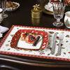 Toy's Delight piatto da colazione quadrato, rosso/multicolore, 24 x 24 cm, , large