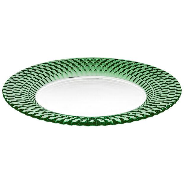 Boston Coloured piatto segnaposto, verde, 32 cm, , large