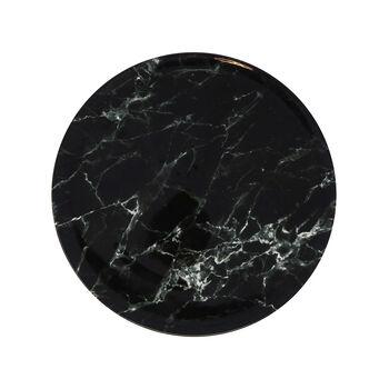 Marmory piatto piano Black, 16x16x2cm