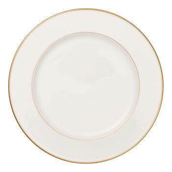 Anmut Gold piatto rotondo , diametro 32 cm, bianco/oro