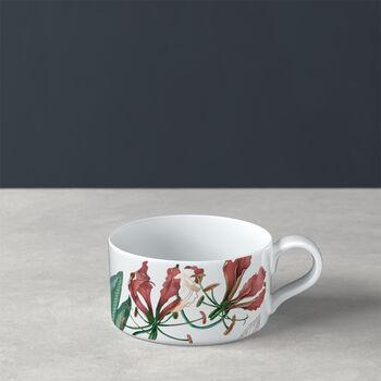 Taza de té Avarua, 230 ml, blanco/multicolor