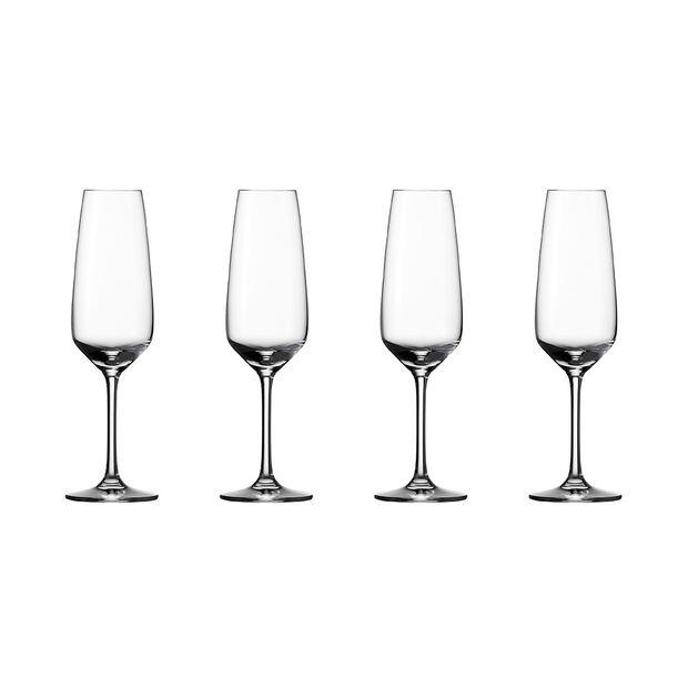 vivo | Villeroy & Boch Group Voice Basic Glas Champagne Flute Reims set 4 pcs, , large