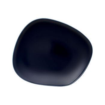 Organic Dark Blue piatto piano 28 x 24 x 3cm