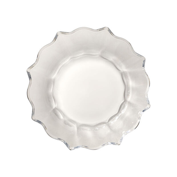 Christmas Glass Accessories ciotola, trasparente, 25 cm, 850 ml, , large