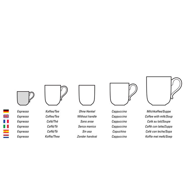 Coffee Passion tazza da espresso a doppia parete, , large